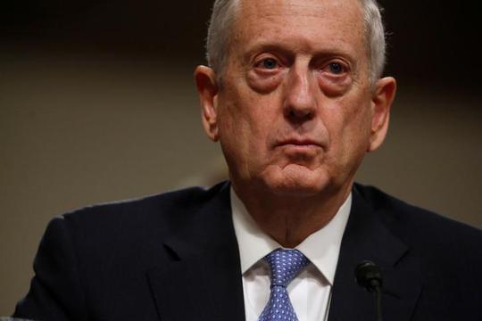 Bộ trưởng quốc phòng Mỹ James Mattis đau đáu về ngân sách quốc phòng. Ảnh: Reuters