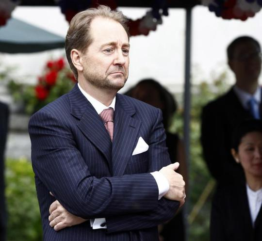 Tỉ phú Na Uy Kjell Inge Roekke. Ảnh: Reuters