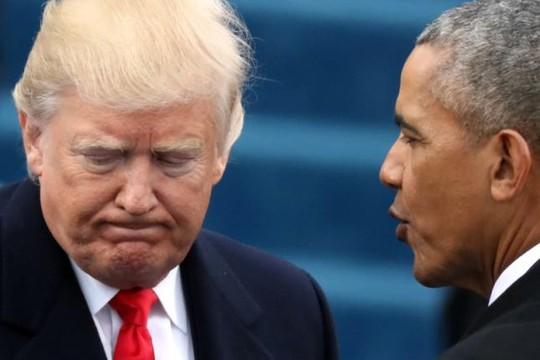 Tổng thống Donald Trump tố ông Obama ngồi yên để Nga can thiệp bầu cử - Ảnh 1.