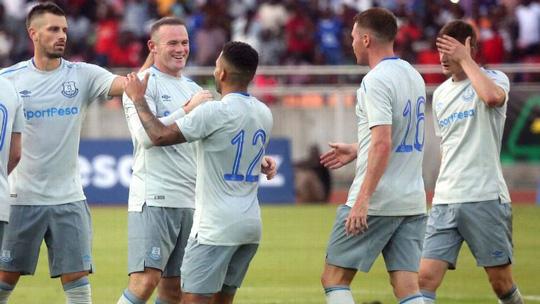Rooney lập siêu phẩm ngày trở lại Everton - Ảnh 1.