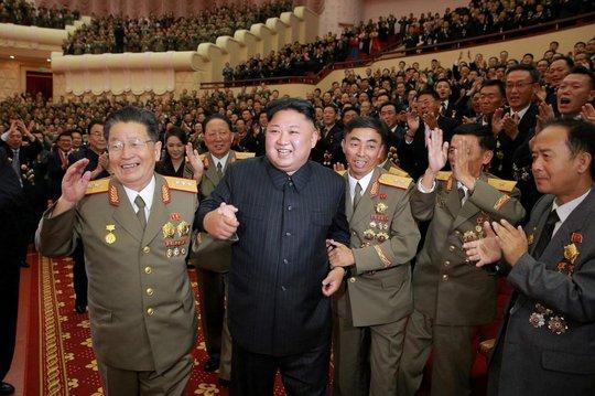 Triều Tiên khoe ảnh ông Kim Jong-un tươi cười tổ chức đại tiệc - Ảnh 5.