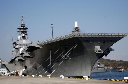 Nhật Bản biến hình tàu sân bay để đón chiến đấu cơ tàng hình? - Ảnh 1.