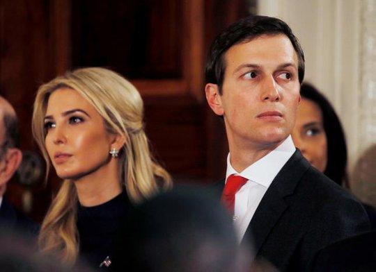 Ivanka Trump và chồng Jared Kushner. Ảnh: Reuters