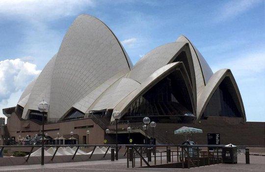 Nhà hát Con sò ở TP Sydney - Úc. Ảnh: REUTERS