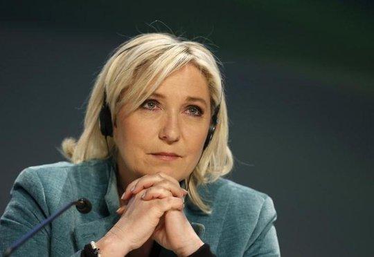Bà Le Pen. Ảnh: Reuters