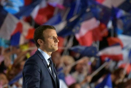 Ông Emmanuel Macron. Ảnh: Reuters