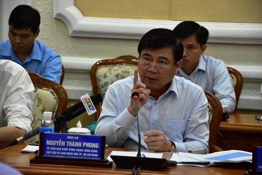 Chủ tịch Nguyễn Thành Phong lật tẩy các báo cáo đẹp - Ảnh 1.