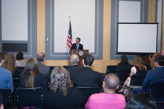 Chiếu phim về nạn nhân da cam Việt Nam tại Thượng viện Mỹ - Ảnh 3.