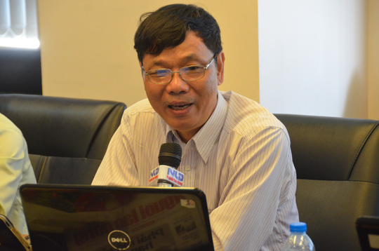 PGS-TS Đặng Vũ Ngoạn, nguyên Hiệu trưởng Trường ĐH Công nghiệp Thực phẩm, một chuyên gia giàu kinh nghiệm trong hướng nghiệp