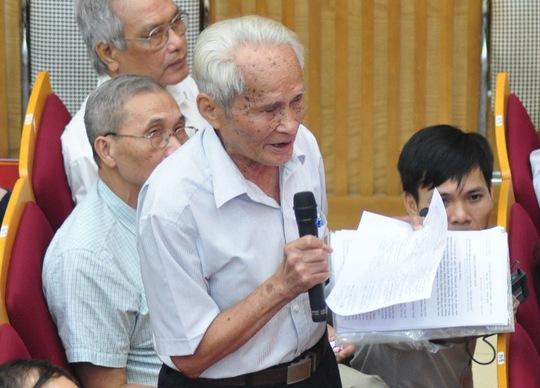 Tướng Nguyễn Quốc Thước nói về việc kỷ luật ông Nguyễn Xuân Anh - Ảnh 2.