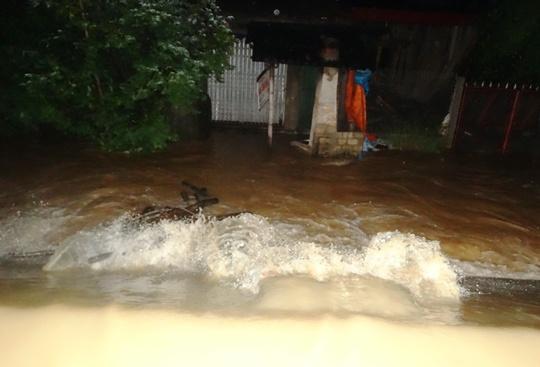 Nước lũ tràn đê sông Bưởi, khẩn cấp sơ tán dân - Ảnh 9.