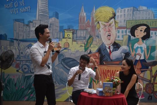 Đạo diễn Lê Hoàng viết Donald Trump và cô bé Sài Gòn trong 24 ngày - Ảnh 2.