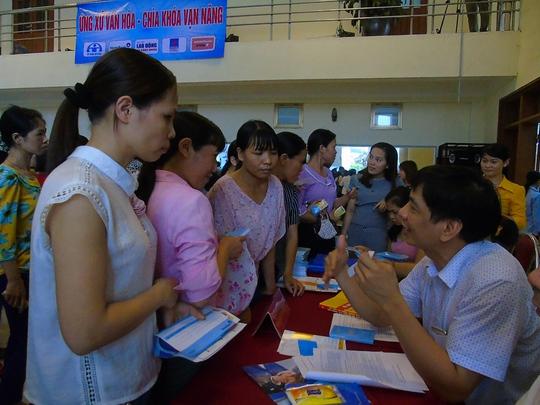 Lần đầu tiên tổ chức Ngày hội tư vấn cho công nhân - Ảnh 3.