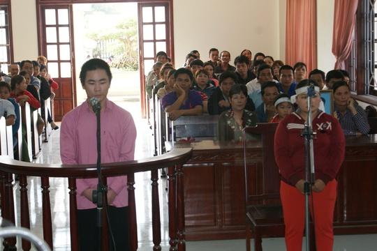 Bị cáo Trịnh Công Văn tại phiên tòa sơ thẩm