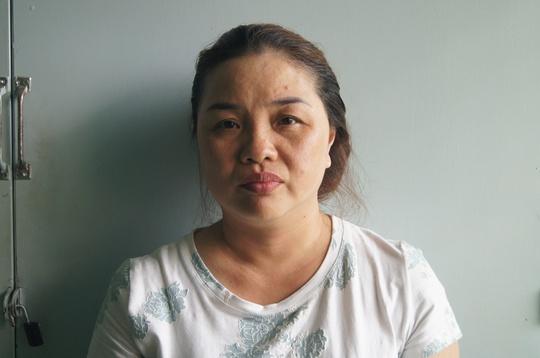Bà Huỳnh Thanh Thủy bị bắt khi trốn tại TP HCM