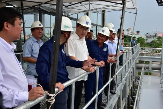 Tạo điều kiện cho người dân tham quan khu xử lý nước thải  - Ảnh 2.