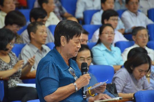 Chủ tịch nước Trần Đại Quang tiếp xúc cử tri TP HCM - Ảnh 6.