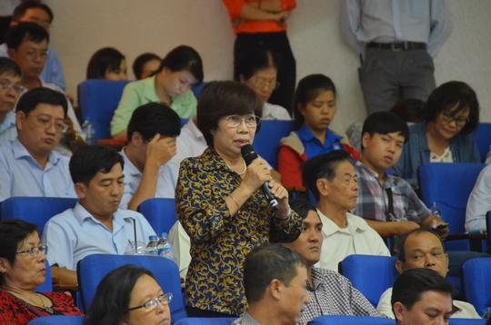 Chủ tịch nước Trần Đại Quang tiếp xúc cử tri TP HCM - Ảnh 7.