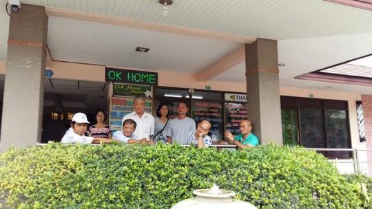 Tổ chức đi du lịch chui, 2 người bị bắt ở Thái Lan - Ảnh 1.