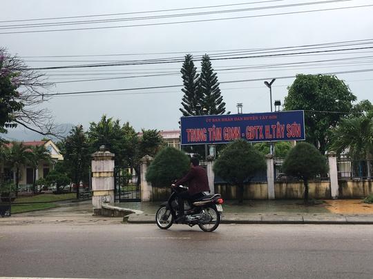 Trung tâm GDNN-GDTX huyện Tây Sơn