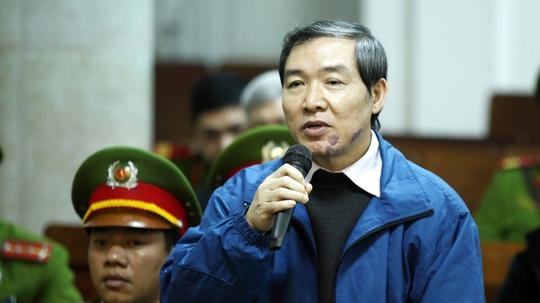 Bị cáo Dương Chí Dũng tại phiên toà phúc thẩm năm 2014