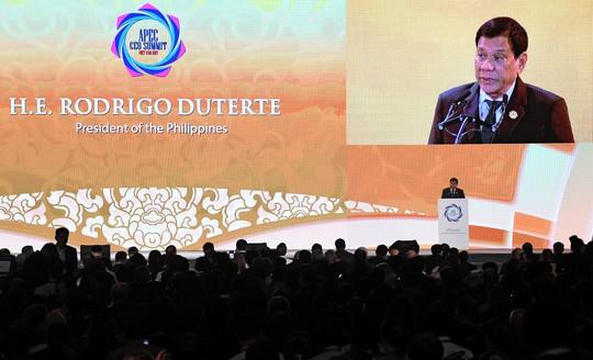 Tổng thống Philippines Duterte đăng đàn APEC 2017 - Ảnh 2.