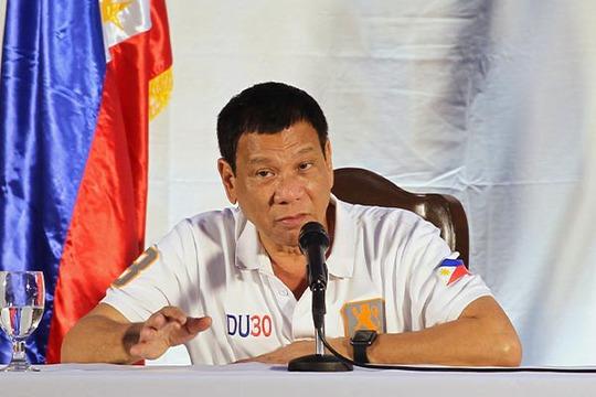 Tổng thống Philippines Rodrigo Duterte. Ảnh: Philstar.com