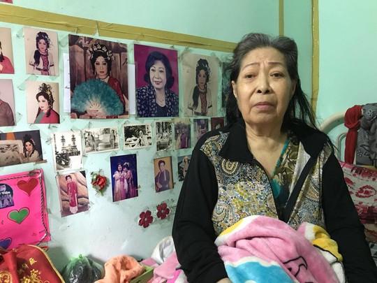 Kỳ nữ Kim Cương lập quỹ giúp đỡ NSƯT Ngọc Hương - Ảnh 1.