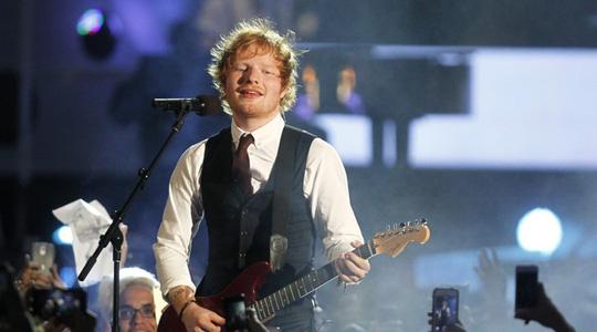 Ed Sheeran vuột giải thưởng lớn - Ảnh 2.