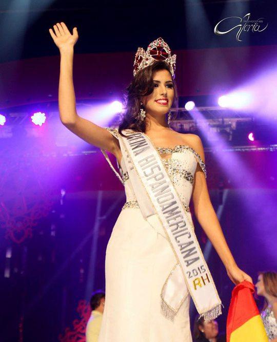 Ngắm nhan sắc tân Hoa hậu Hoàn vũ Tây Ban Nha - Ảnh 2.