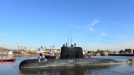 Phát hiện tín hiệu vệ tinh từ tàu ngầm Argentina mất tích - Ảnh 1.