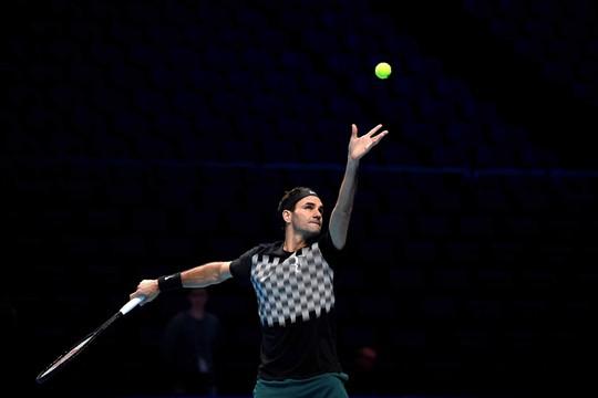 Federer sẵn sàng tỏa sáng ở London - Ảnh 1.