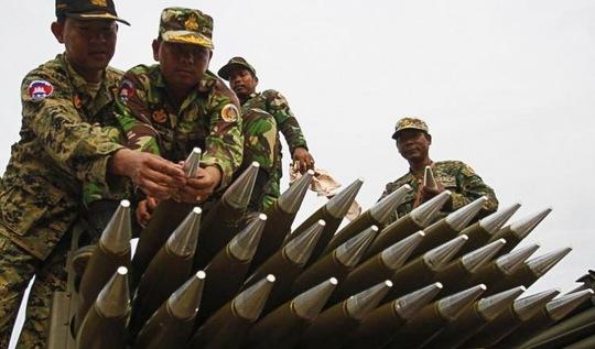 Campuchia yêu cầu Lào rút quân khỏi biên giới - Ảnh 1.