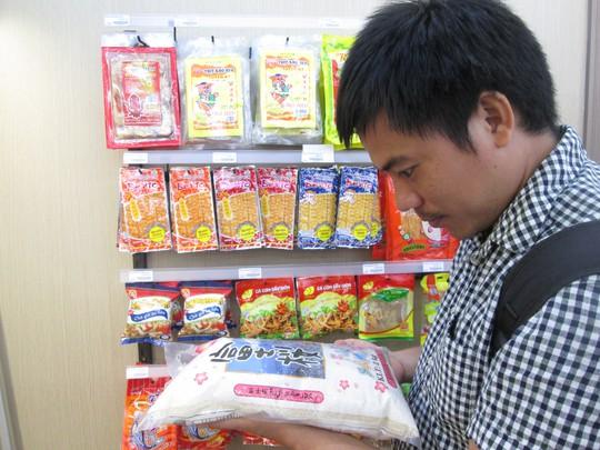 Gạo giống Nhật Bản trồng tại Việt Nam được bán tại một chuỗi bán lẻ nước ngoài