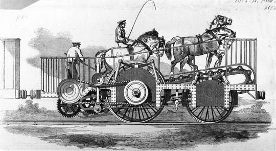 Xe lửa ngựa kéo Impulsoria. Nguồn: wikipedia