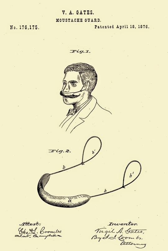 Đai bảo vệ và giữ vệ sinh ria mép cho các đấng mày râu. Nguồn ảnh: etiquipedia