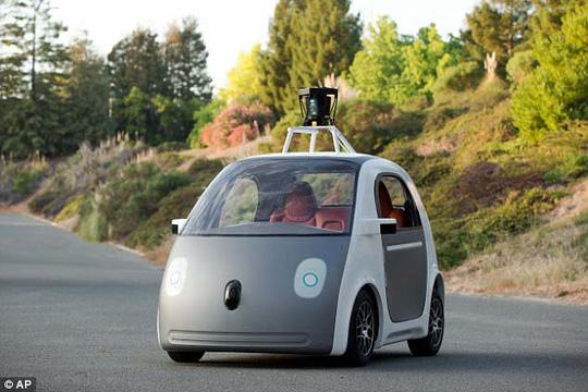 Một mẫu xe tự lái của hãng Google Ảnh: Waymo