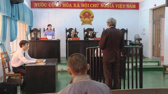 Bị cáo B.I.T tại phiên tòa