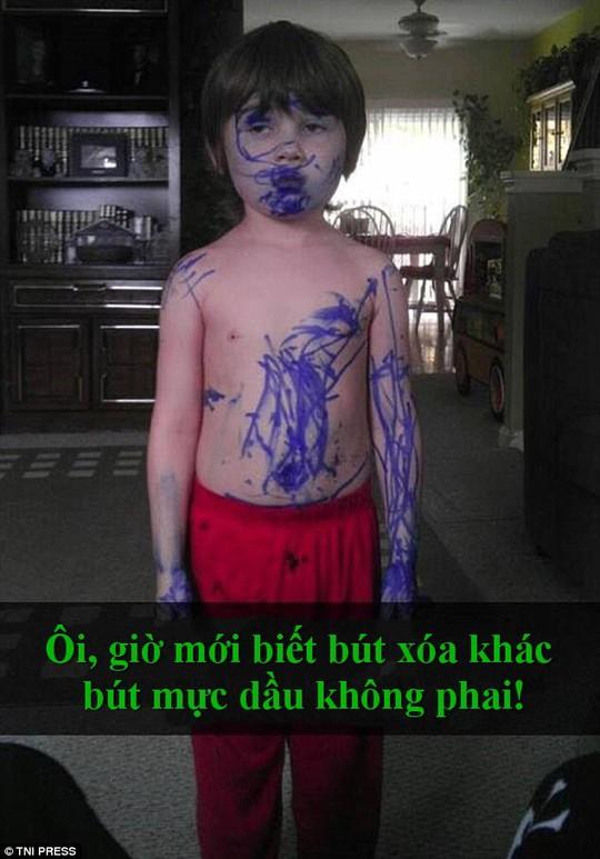 """Chết cười với những màn """"quậy"""" của trẻ em - Ảnh 11."""