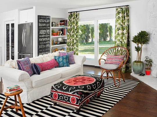 Lắng nghe phòng khách kể câu chuyện tấm thảm sọc trắng đen có phép mầu diệu kì - Ảnh 9.