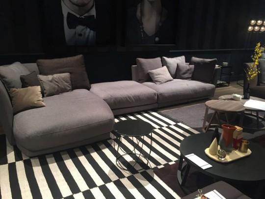 Lắng nghe phòng khách kể câu chuyện tấm thảm sọc trắng đen có phép mầu diệu kì - Ảnh 11.
