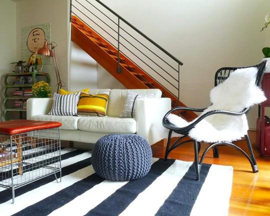 Lắng nghe phòng khách kể câu chuyện tấm thảm sọc trắng đen có phép mầu diệu kì - Ảnh 13.