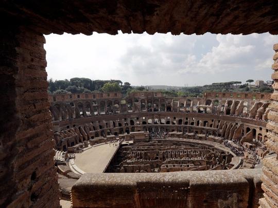 Đấu trường La Mã mở cửa tầng cao nhất phục vụ du khách - Ảnh 2.