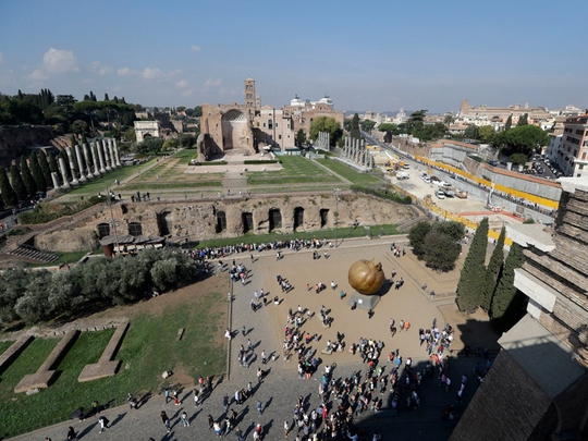 Đấu trường La Mã mở cửa tầng cao nhất phục vụ du khách - Ảnh 4.