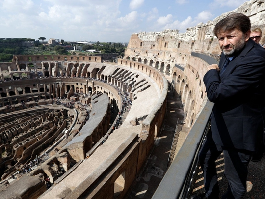 Đấu trường La Mã mở cửa tầng cao nhất phục vụ du khách - Ảnh 5.