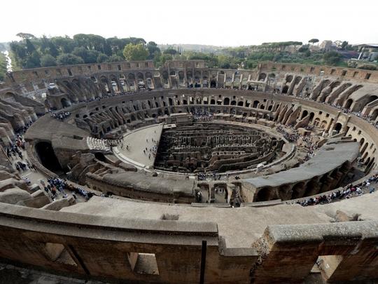 Đấu trường La Mã mở cửa tầng cao nhất phục vụ du khách - Ảnh 6.