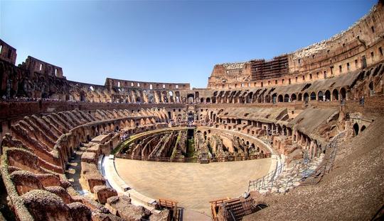 Đấu trường La Mã mở cửa tầng cao nhất phục vụ du khách - Ảnh 8.