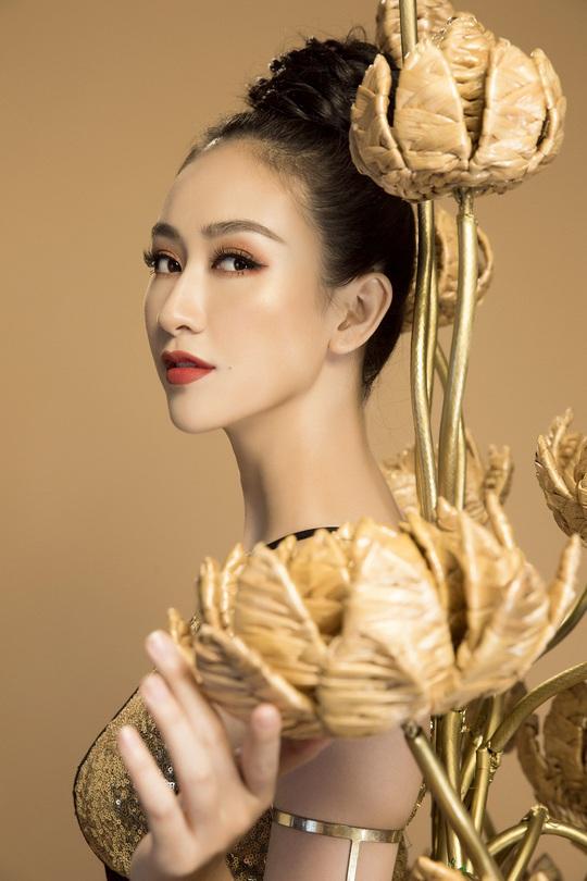 Trang phục dân tộc gây sốc của Hà Thu tại Miss Earth - Ảnh 7.
