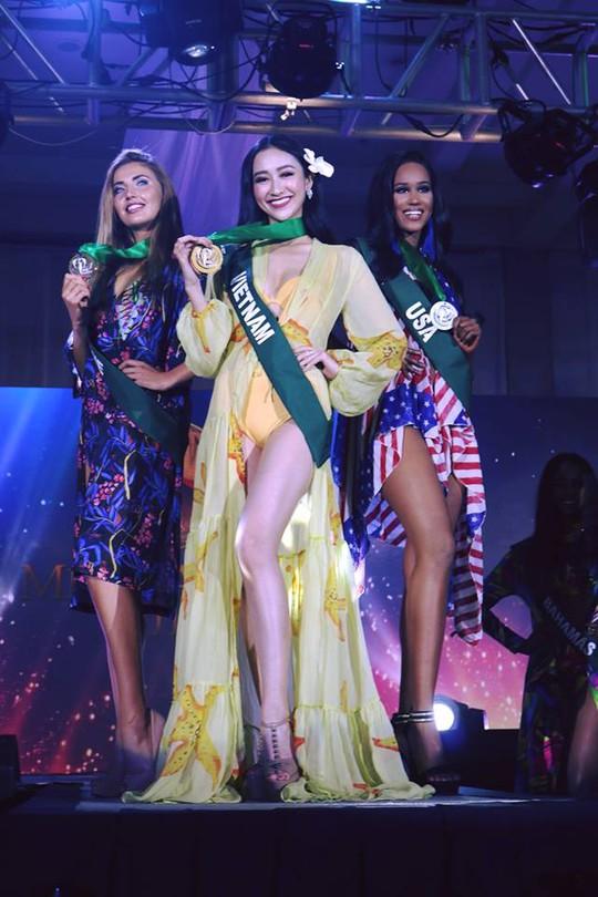 Hà Thu có thêm giải phụ tại đấu trường Hoa hậu Trái đất - Ảnh 4.