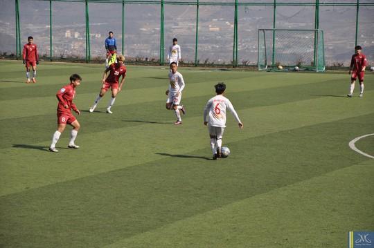 Các cầu thủ nhí của Học viện HAGL Arsenal JMG đã có chuyến tập huấn bổ ích ở Hàn Quốc